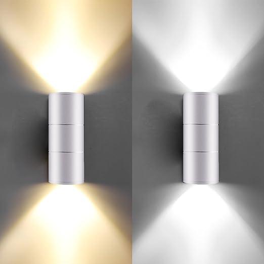 Amazon.com: Fornorm - Lámpara LED de pared con cilindro de ...
