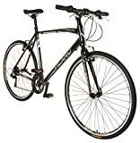 Vilano Diverse 1.0 Performance Hybrid Bike 21 Speed Road Bike 700c