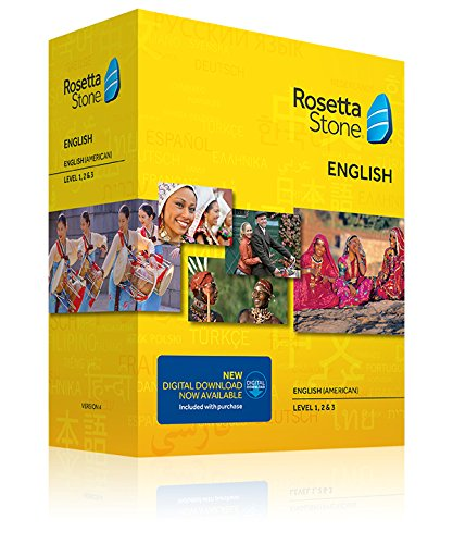 Rosetta Stone English (American) v4 TOTALe - Level 1, 2, 3 Set - PC/Mac