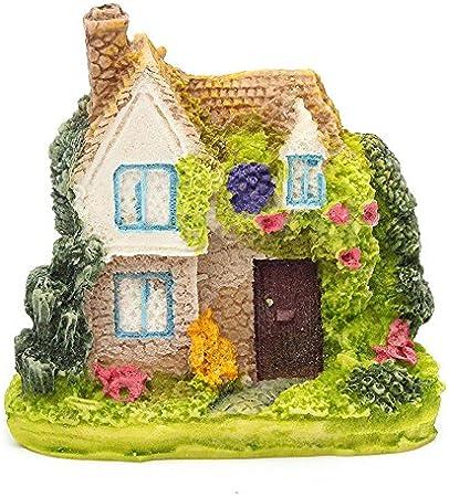 Miniatura Casas Jardín de Hadas para Jardín y Patio Decoración Resina , 2 pcs (Estilo al Azar): Amazon.es: Hogar