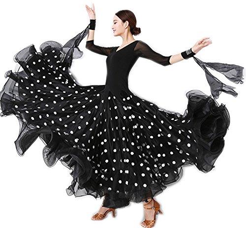 激安な garuda 社交ダンス ドレスダンス衣装 社交ダンス 上品トッド柄 サイズオーダー可 ボリュームスカート 上品トッド柄 レディース社交ダンス サイズXL B075B3P3H8 サイズXL, カシハラシ:3dd9fe46 --- a0267596.xsph.ru