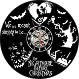 Nightmare Before Christmas Handmade Vinyl Wall Clock Review