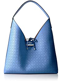 GUESS Bobbi Inside Out Hobo-Blueberry/Nude