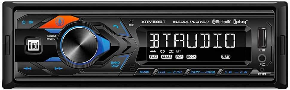 Single-DIN in-Dash All-Digital Media Receiver with Bluetooth