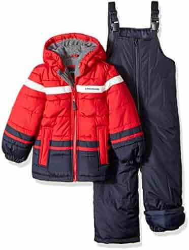 London Fog Boys' 2-Piece Snow Pant & Jacket Snowsuit