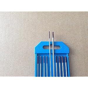 10 PCS,.040″&1/16″ 7″,Brown WZr3, 0.3% Zirconiated Tungsten TIG Electrodes (ETA:7-12 WORK DAYS)
