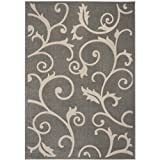 Safavieh Cottage Collection COT931R Grey and Cream Area Rug (8′ x 11'2″) Review