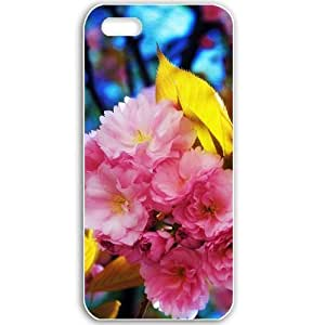 Apple iPhone 5 5S Cases Customized Gifts For Flowers beautiful flowers Flowers White