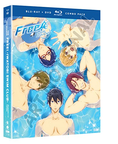Blu-ray : Free! - Iwatobi Swim Club: Season One (With DVD, Boxed Set, , 4 Disc)