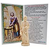 St. Joseph Home Seller Kit - Made in USA - Sold by Vets - Custom Prayer Card Included