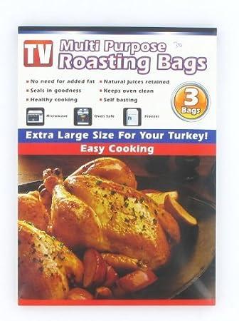 Amazon.com: Zizzi extragrande bolsas para asar – Pack de 3 ...