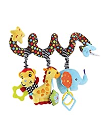 TOYMYTOY Kid Baby Spiral Bed Stroller Toy Monkey Elephant Educational Plush Toy BOBEBE Online Baby Store From New York to Miami and Los Angeles