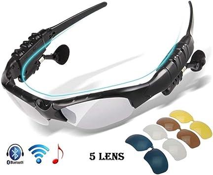 Gafas De Ciclismo Polarizadas Bluetooth Hombres Gafas De Sol De ...