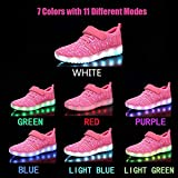 Nishiguang LED Light Up Shoes Kids Girls Boys