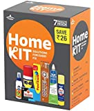 Pidilite Home Improvement Kit Containing 7 Solutions - Fevistik, Fevikwik, BriteO, Fevicol MR, Shoefix,M-Seal and WD 40