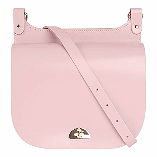 a5dec7905238 The Cambridge Satchel Company Medium Conductors Bag in Peach Pink Patent  Leather  Amazon.co.uk  Shoes   Bags