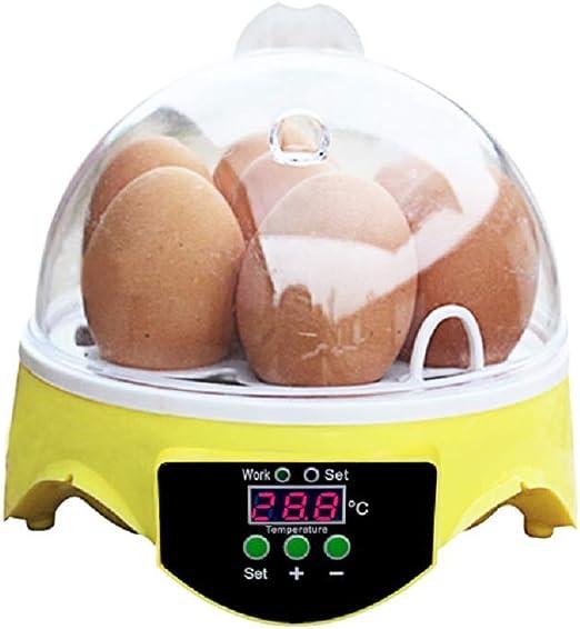 128 Digital Eier Inkubator Mit Eierablagen Temperatur Feuchtigkeit Steuerung /& Automatisches Drehen Zum H/ähnchen Vogel Ente Automatische Wasseraufnahme