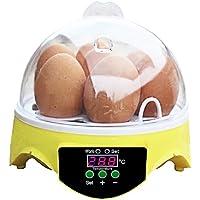 Gloomia Inkubator - Incubadora automática, 7 Huevos, Temperatura
