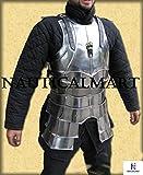 NAUTICALMART LARP, LARP Armor, Elven, Fantasy, kinght, Medieval Costume, Steel, Armor
