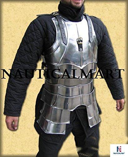 NAUTICALMART LARP, LARP Armor, Elven, Fantasy, kinght, Medieval Costume, Steel, Armor by NAUTICALMART (Image #5)