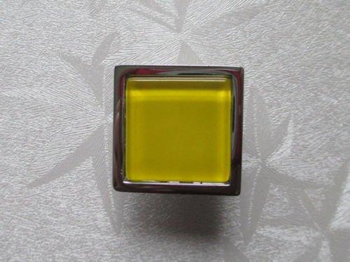 2 pomos de cristal para armario amarillo pomos de puerta armario armario cocina puerta tiradores de caj/ón