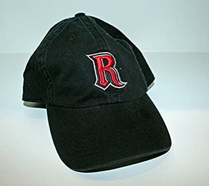 newest c026d 79f1f Amazon.com   Zephyr Rutgers University RU Scarlet Knights Black DH Top  Cotton Relaxed Boys Youth Fitted Baseball Hat Cap Size Small   Sports    Outdoors
