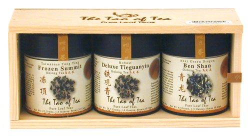 The Tao of Tea Oolong Tea Sampler, 3-Count Box by The Tao of Tea