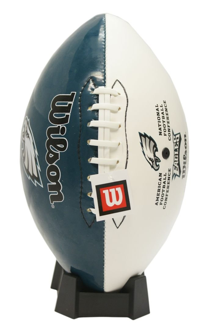 NFL Philadelphia Eagles Autograph Official Size Wilson Football Wilson Sporting Goods WTF1535 PHIL