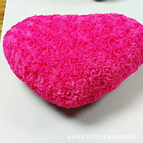 Amazon.com: 1 x suave Amor Forma De Corazón esponjoso ...