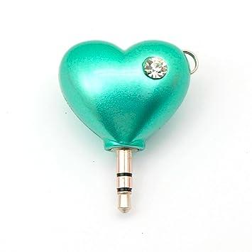 Forma de Corazón de Dos vías Distribuidor de Auriculares ...