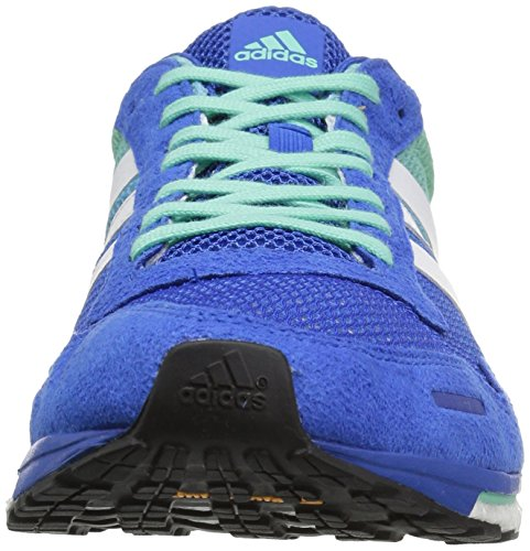 Adidas Performance Mens Adizero Adios M Scarpa Da Corsa Blu / Bianco / Verde Facile