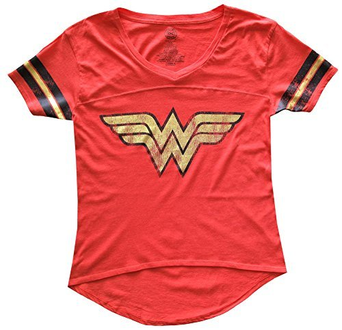 Wonder Woman Juniors Foil Logo Tee Shirt ()