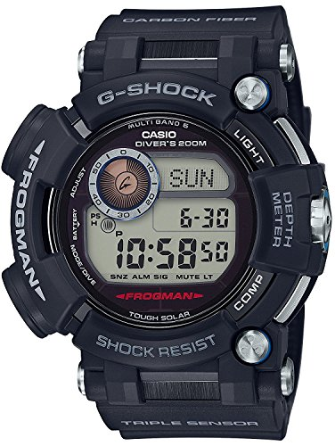 CASIO watch G-SHOCK Frogman world six stations corresponding Solar radio GWF-D1000-1JF Men's