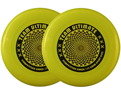 Ultimate Team Set - Da Vinci 2-Disc Set, Team Ultimate 175 Gram Flying Sport Disc (Goldenrod)
