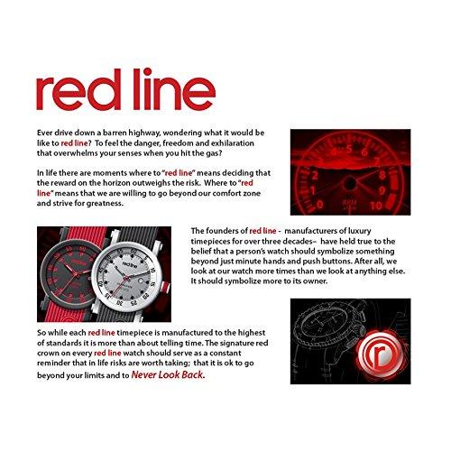 red line RL-18101-014WH-GUN Watch