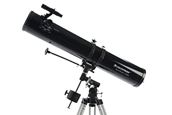 Celestron powerseeker eq reflector telescope amazon
