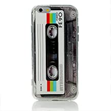 Iphone 6 6s Case Heavy Duty TPU Bumper Back Cover Cassette