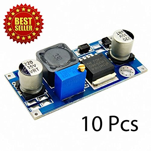 New 10 pcs LM2596 DC-DC 1.3V-35V Voltage Adjustable Power Supply Module Step down Converter Boost Regulator Constant Current