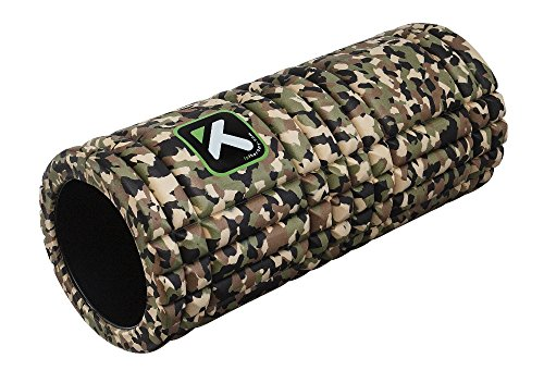 TriggerPoint GRID Foam Roller with Free Online Instructional Videos, Original (13-inch), Camo (Camo Foam)