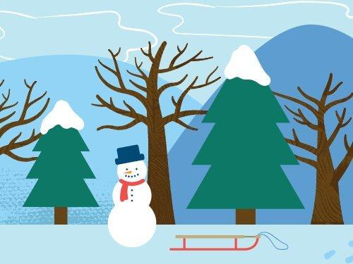 Winter Scene eGift Card