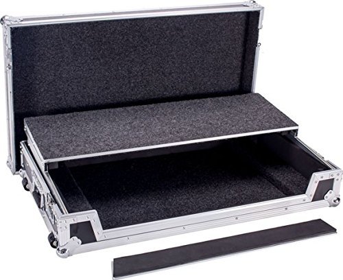 (Flight Road Case for Mackie CFX20MKII Pro Mixer Or Other Similar Mixer Made From Materials With Outstanding Reliability And All-around Protection For Your Equipment DEEJAY LED TBHDDJSZWLT)