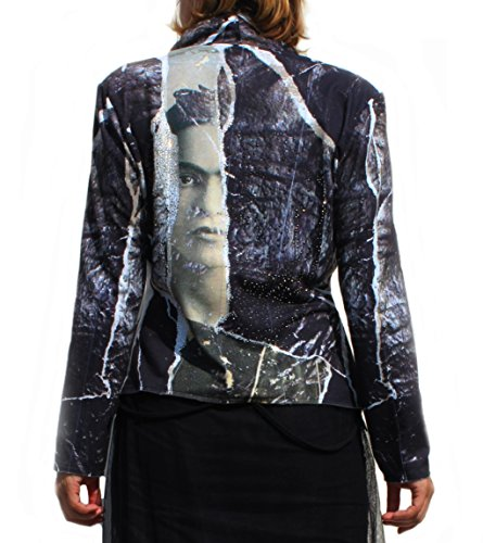SIS Damen kurzer Blazer mit Print SIS-T-3781-11350