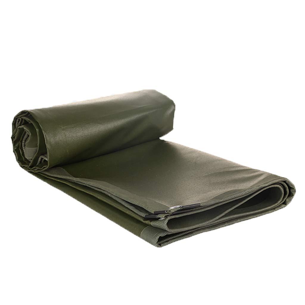 ターポリン、厚い防水日焼け止め屋外多機能複数のサイズ、陸軍緑 (サイズ さいず : 3m*5m) 3m*5m  B07J6QQ8H6