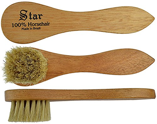 "Star 6"" Horsehair Dauber Polish Silver"