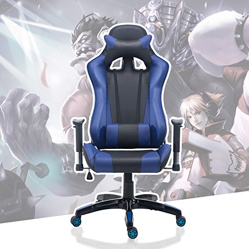 51DjlrBGyNL - Acepro-Gaming-Chair-Swivel-Chair-Computer-Chair-Ergonomic-High-Back-Chair-Executive-Racing-Style-Task-Desk-Chair-with-Headrest-and-Lumbar-Support-Pillow-BlackBlue