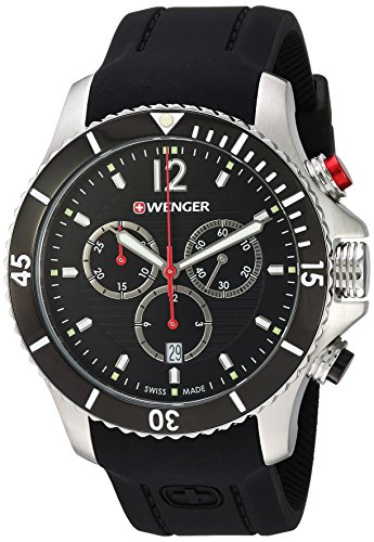 Wenger-Mens-Seaforce-Chrono-Swiss-Quartz-Stainless-Steel-and-Silicone-Casual-Watch-ColorBlack-Model-010643108
