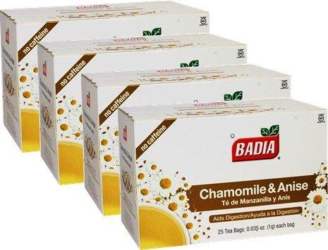 Chamomile and Anise by Badia. 100 Tea bags - Badia Tea