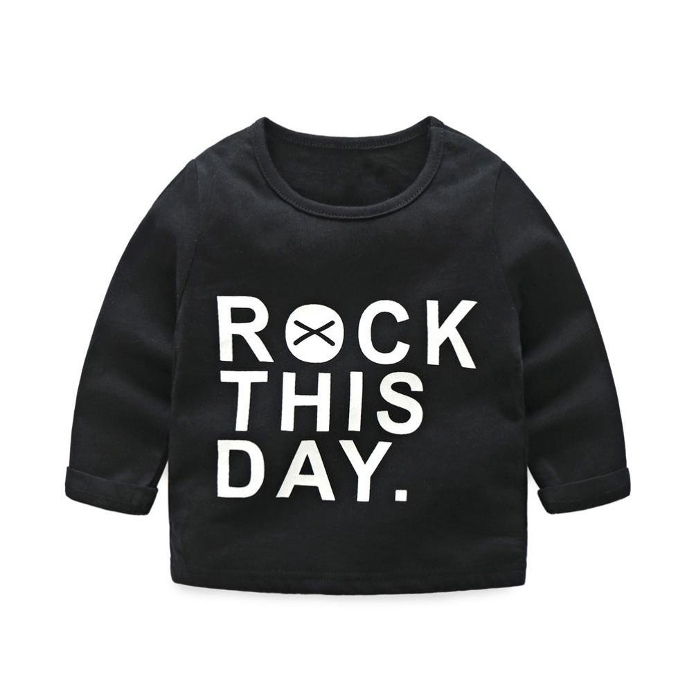FORESTIME/_baby clothes boy FORESTIME Newborn Infant Baby Boys Cute Girls Letter Print Tops Shirt Pants 2Pcs Outfits Set