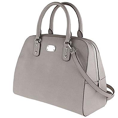 e7341215609f Amazon | マイケルコースMICHAEL KORSハンドバッグns-35s3ssas3l saffiano lg satchel [並行輸入品]  | ハンドバッグ