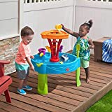 BBT2 STEP Seaside Showers Water Table with Accessories